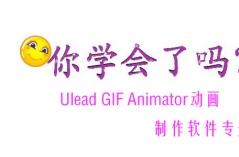 Ulead GIF Animator动画制作软件专题