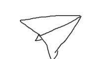 QQ画图红包飞机画法教程