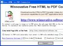 Free HTML to PDF Converter(把网页变成PDF)V9.8 绿色版