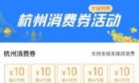 杭州消费券使用方法教程