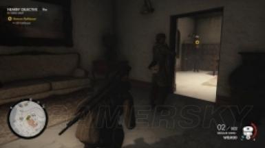 《狙击精英4》第七章交维奥菲里尼宅邸图文攻略