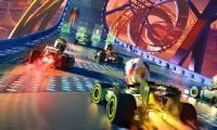 卡通赛车竞速类游戏