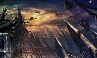 黑暗城堡主题的探险手游
