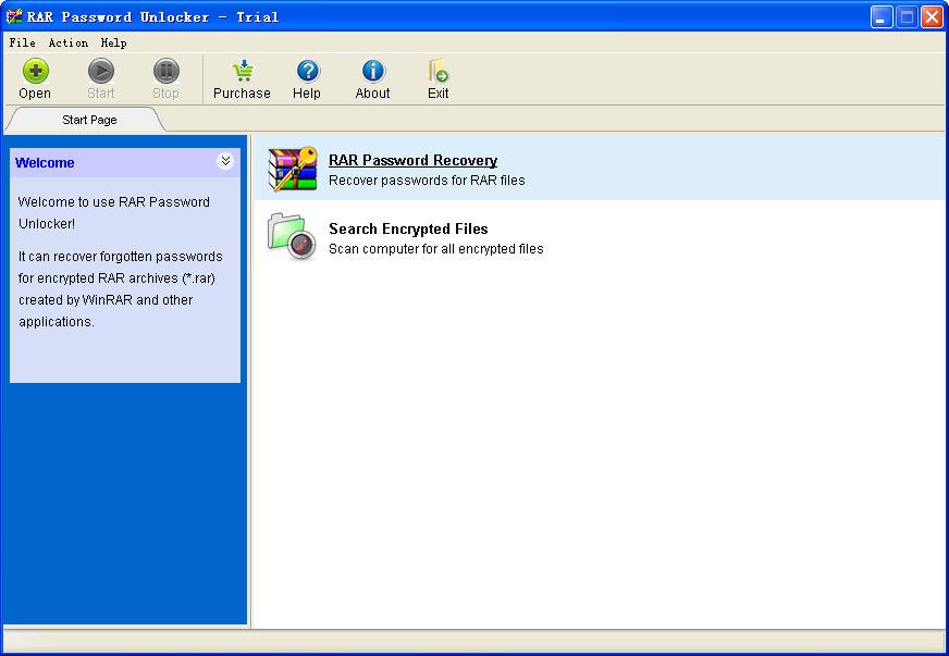 RAR Password Unlocker(rar密码破解工具)V5.0 汉化绿色特别版
