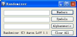 RandomizerV1.1绿色英文版
