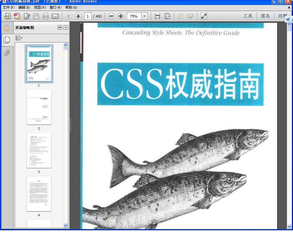 CSS权威指南