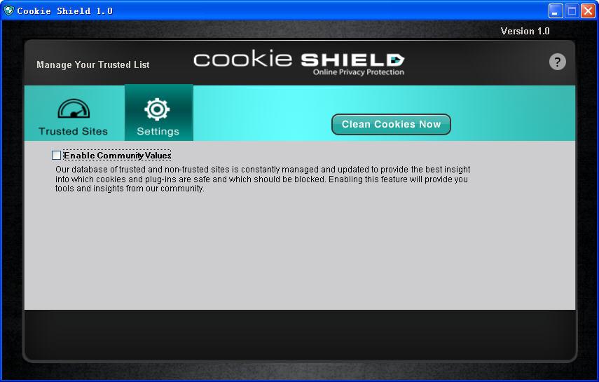 Cookie ShieldV1.0 官方版