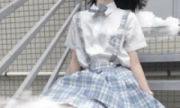 校园制服女生头像不露脸