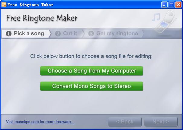Free Ringtone Maker(手机铃声制作软件)V2.4.0.1720 官方免费版