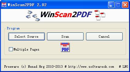 WinScan2PDFV2.02 多国语言绿色免费版