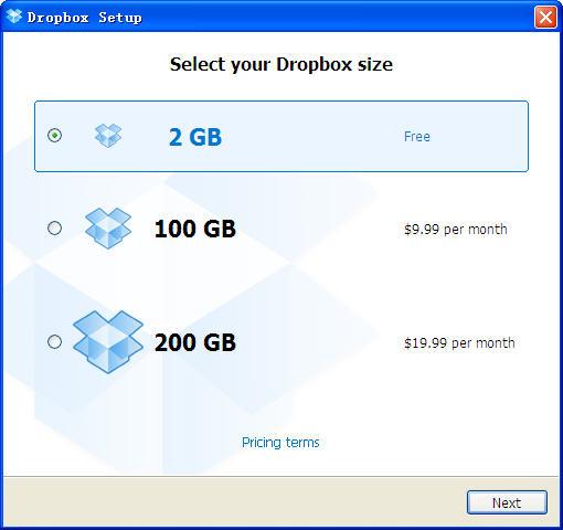 Dropbox(网络文件同步)V3.12.6.0 官方英文安装版