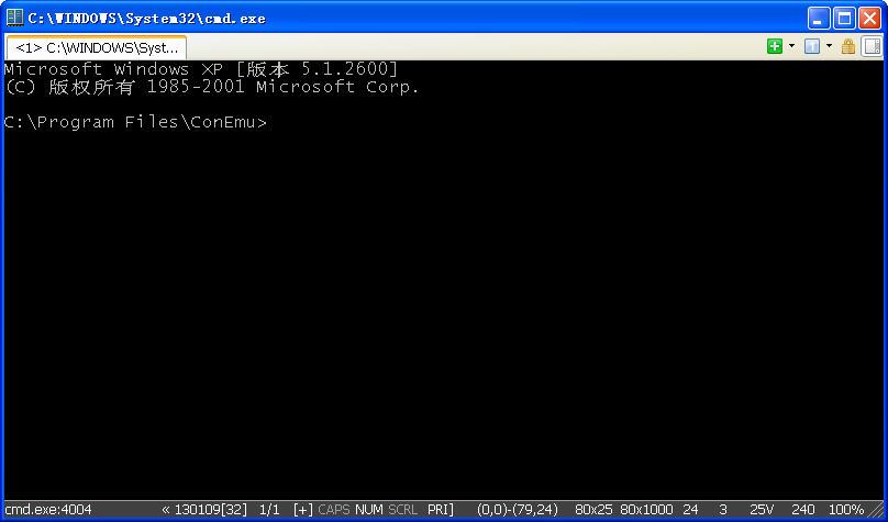 ConEmu(模拟dos操作系统)V131219 官方版