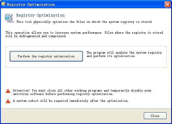 Registry Life(注册表修复工具)V1.70 官方免费版