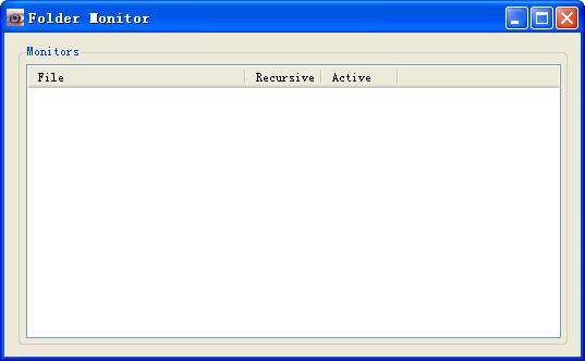 Folder MonitorV0.9 汉化绿色免费版