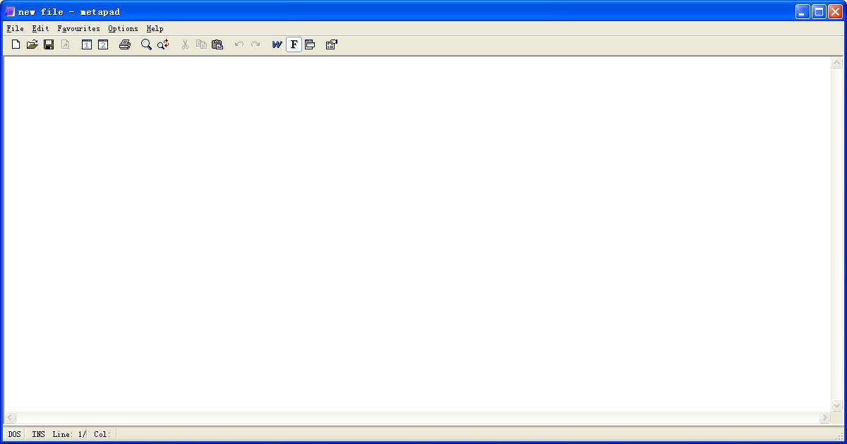 记事本MetapadV3.6 英文绿色版