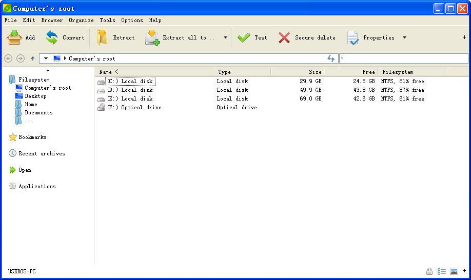 PeaZip(压缩解压缩软件)V6.5.0.0 官方版
