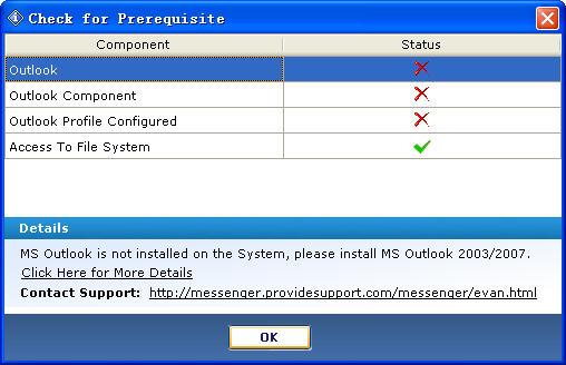 Outlook电子邮件数据恢复工具V3.1.0.0