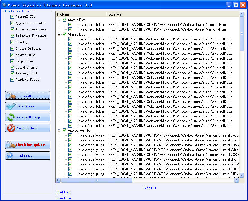 Power Registry CleanerV3.3 绿色免费版