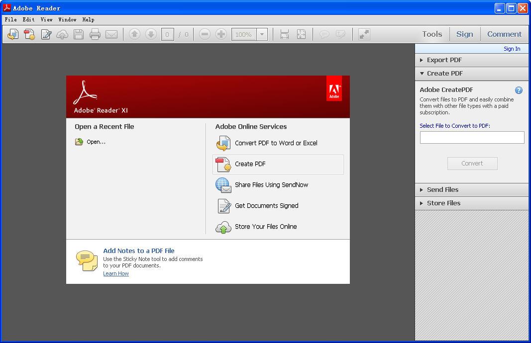 Adobe Reader XI(PDF文件阅读软件)V11.0.7 官方最新版下载