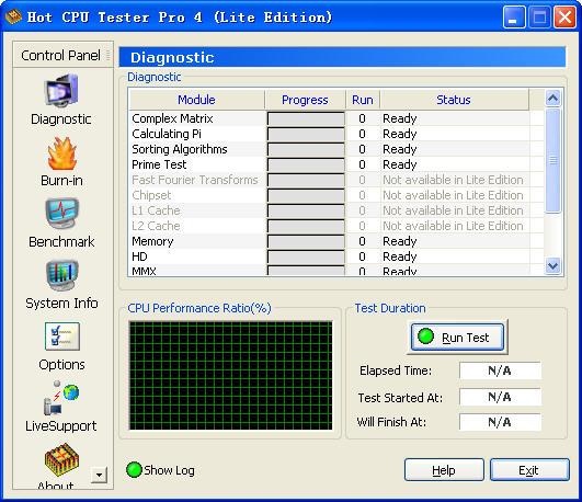 CPU超频测试软件V4.15.5.452 免费版