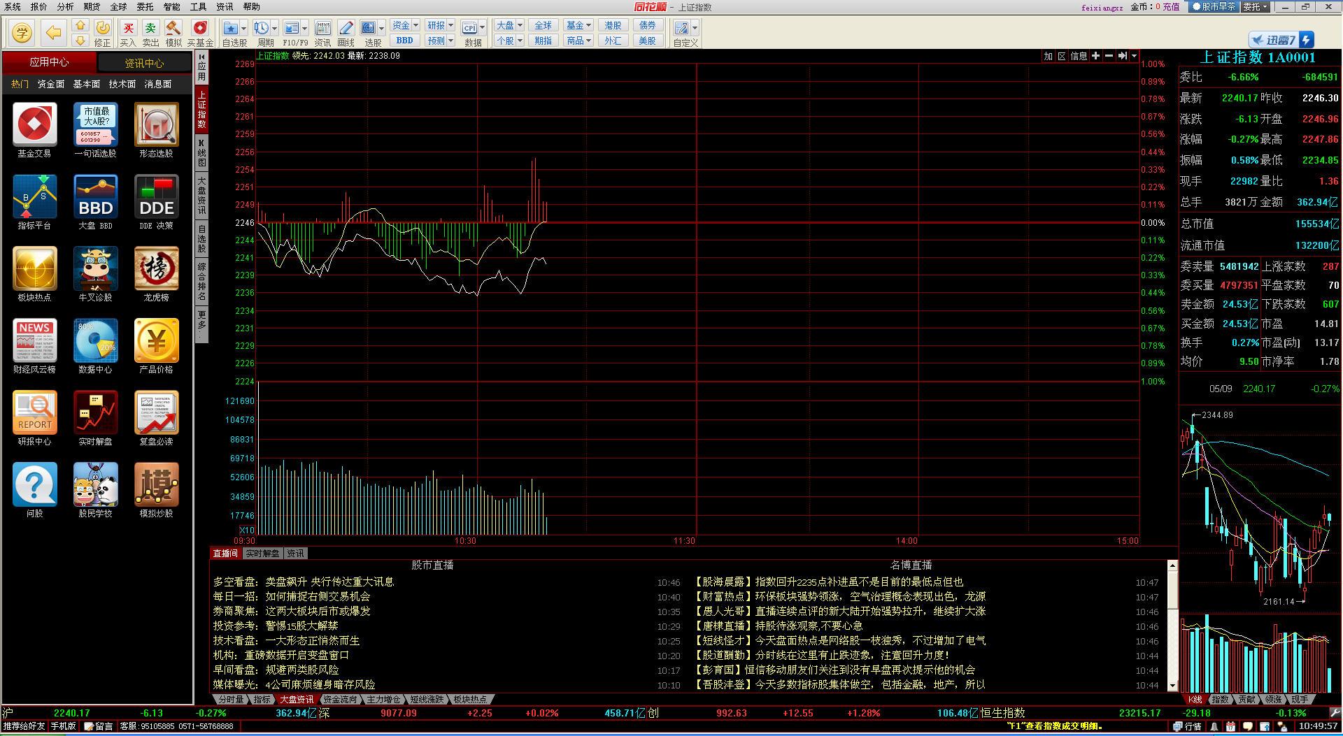 同花顺证券行情分析软件V8.40.73 简体中文官方安装版