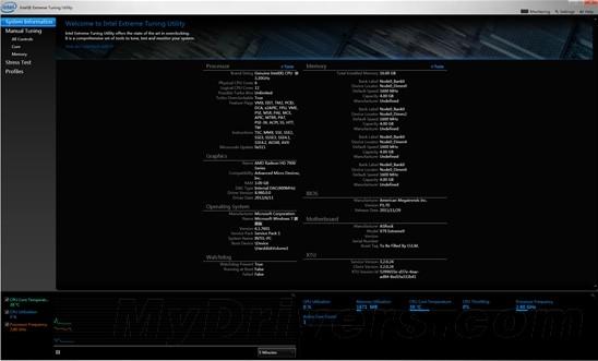 Intel Extreme Tuning Utility(CPU超频工具)V4.2.0.8 英文官方安装版