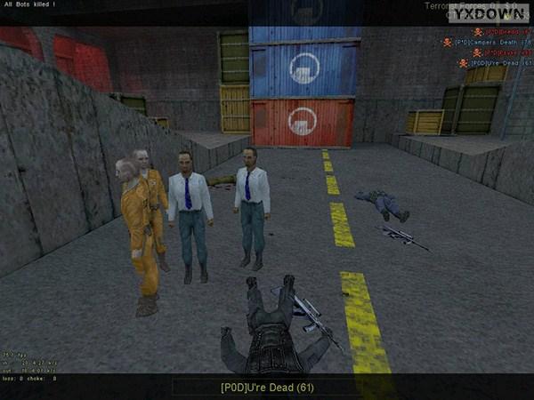 反恐精英 CS1.5机器人补丁截图3