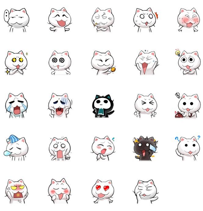 搞怪猫斯拉qq表情包_搞怪猫斯拉qq表情包下载