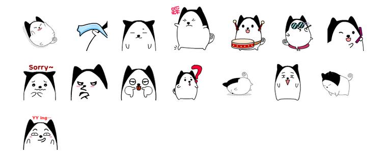 调皮丘比猫qq表情包