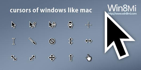 Cursors Of Windows Like Mac(鼠标指针)