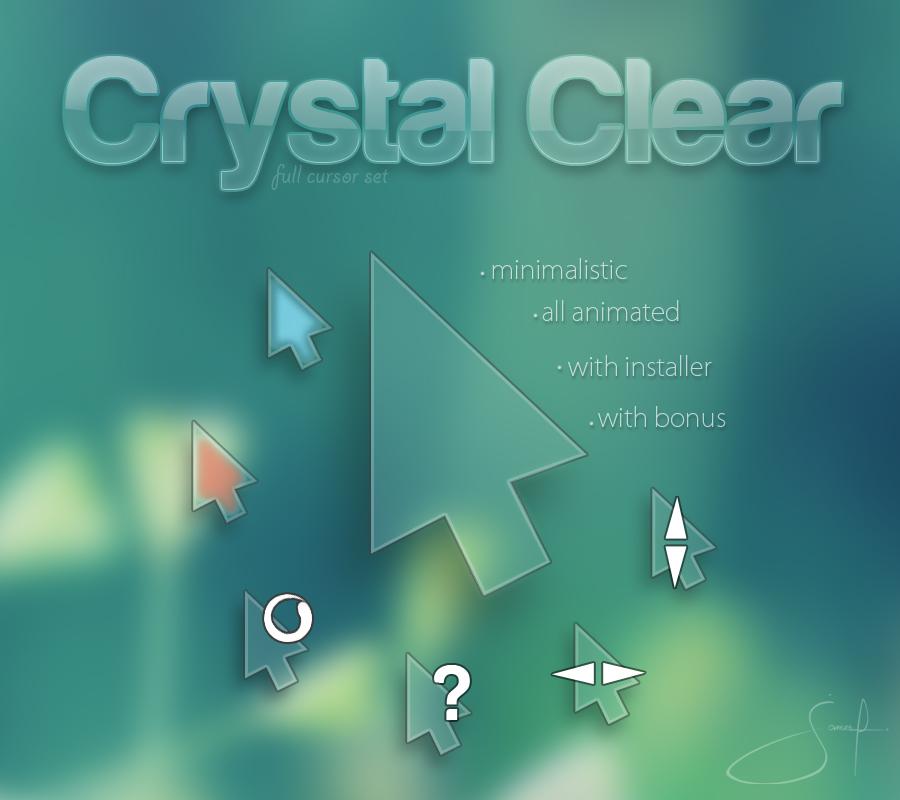 Crystal Clear(鼠标指针)