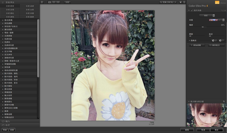 PS滤镜(Google Nik Collection)V1.2.0.3 简体中文注册版