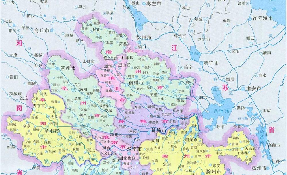安徽地图下载 安徽地图高清版下载
