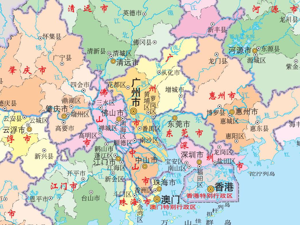 广东地图下载_广东地图全图高清