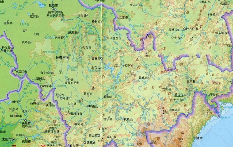 吉林地图下载_吉林市地图高清版下载