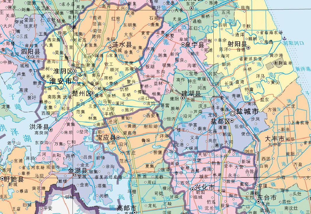 泰州市区地图高清版