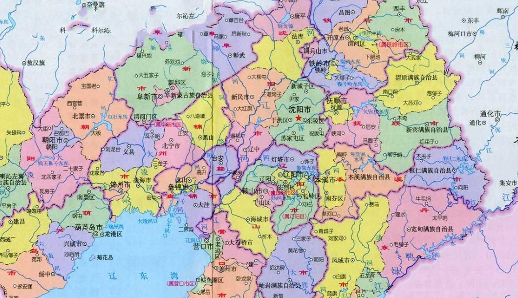 辽宁地图下载_辽宁地图全图高清版下载