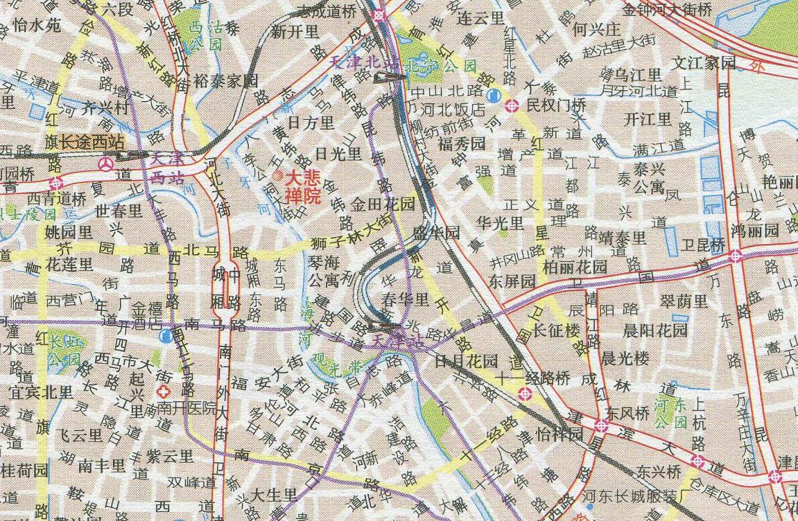 天津地图下载_天津地图高清版下载