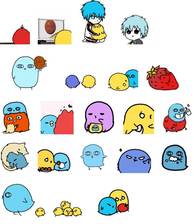 黑蓝小鸡系列搞笑qq表情包大图预览