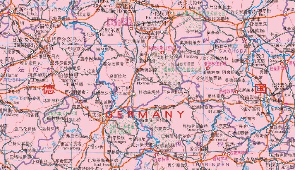 德国国家机构体系结构图