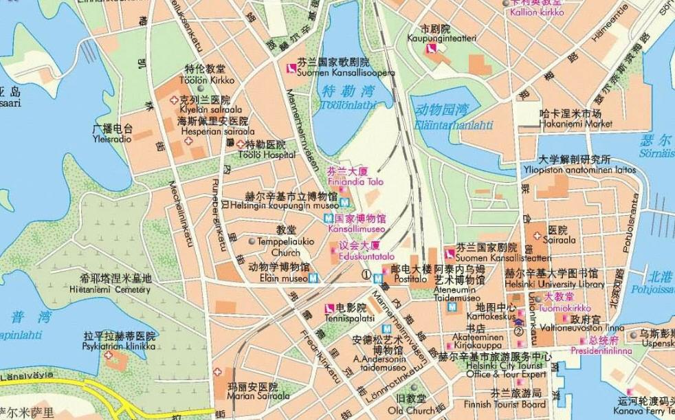 赫尔辛基地图全图_赫尔辛基地图高清中文版下载