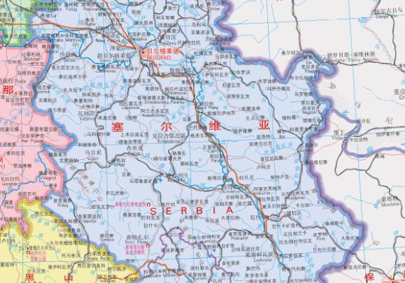 18世纪初欧洲地图
