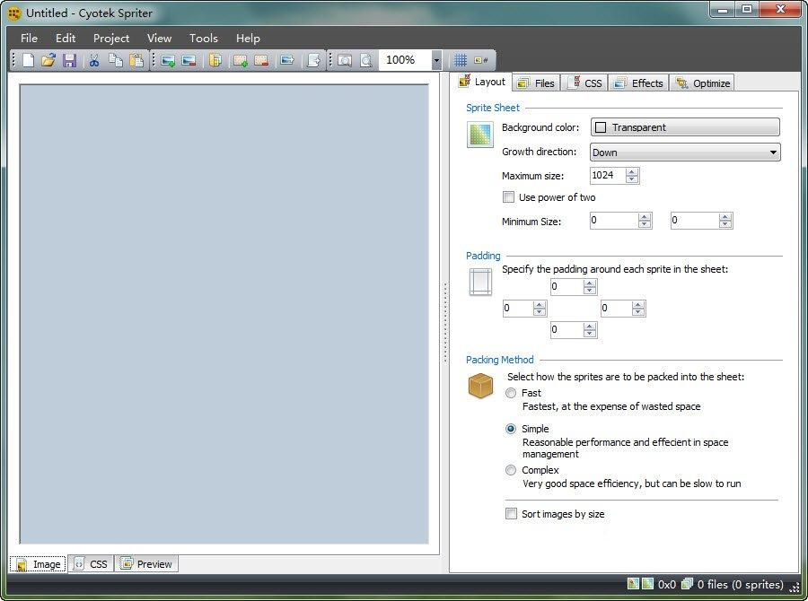 Cyotek Spriter(div+css切图工具)V1.0.7.4 英文绿色版