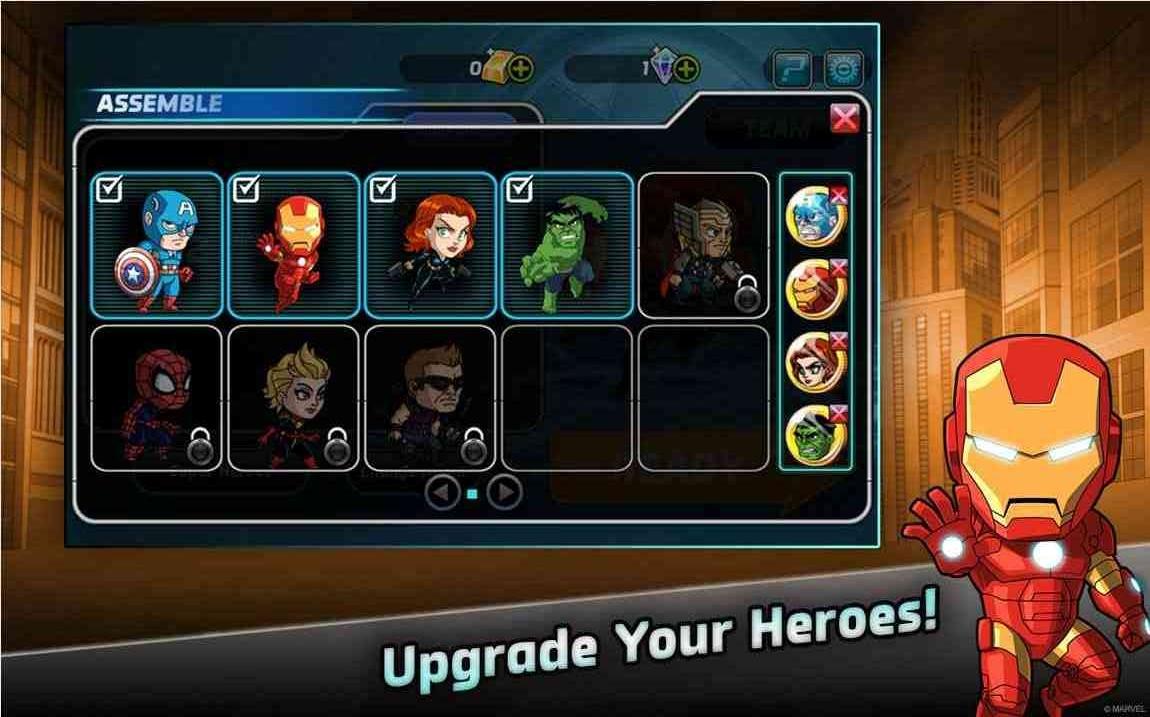 漫威英雄跑酷V1.0.1 官方版