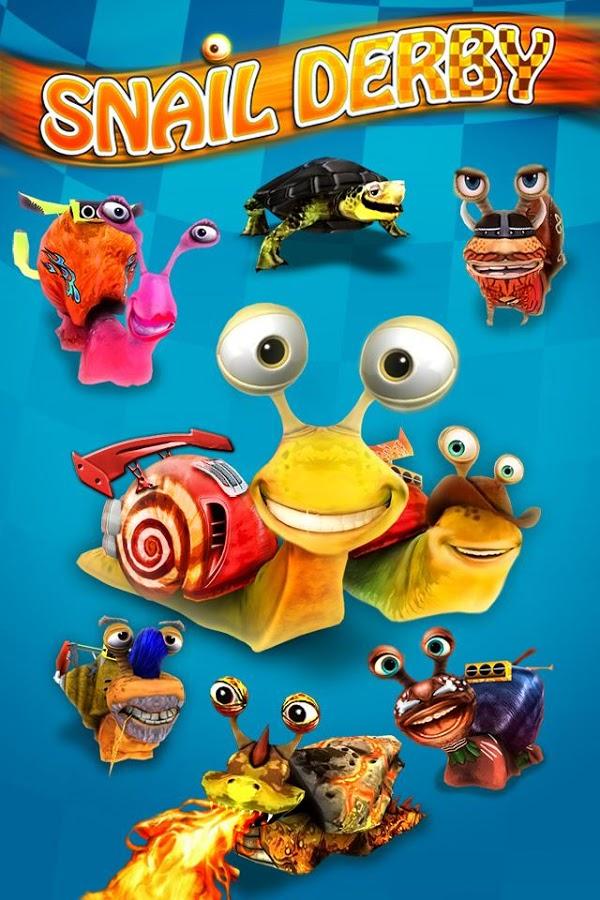 极速蜗牛(Snail Derby)V1.12 破解版