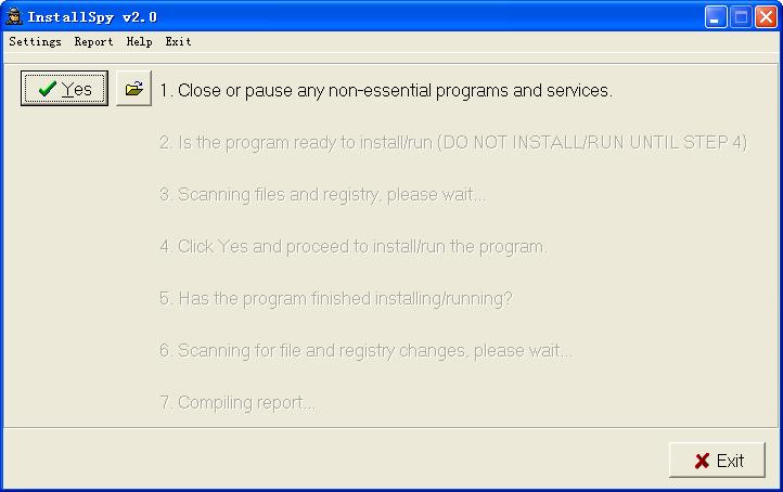 InstallSpy(安装程序监视器)V2.0 绿色版