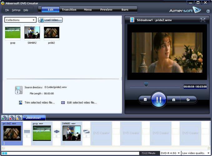 Aimersoft DVD Creator(dvd刻录软件)V3.0.0.8 汉化mac版