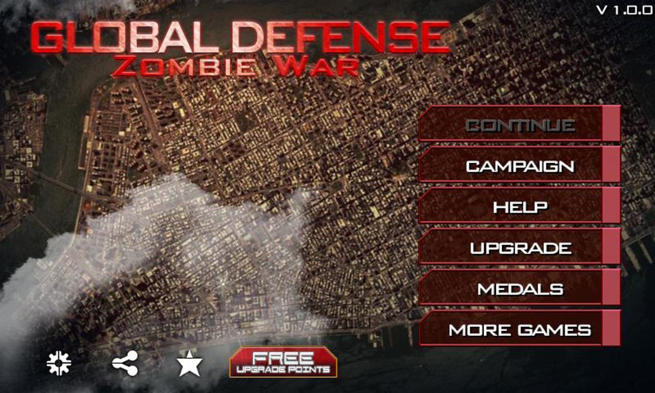 僵尸世界大战(Zombie War)V1.3.5 破解版