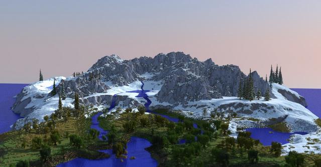 我的世界 达人自创 Iuvem大陆MOD;本MOD是由外国网友crpeh制作的一个《我的世界》的地图,Iuvem大陆。 从图片我们可以感受到整个大陆看起来真是棒极了!地形多样,细节丰富,一个非常迷人的大陆。