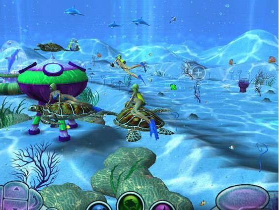 画 面:  新作的画面给人的感觉就像是梦境一般,背景依然设定在游动着各种海底生物的3D水下世界。海洋环境覆盖了加勒比海、夏威夷等,游戏中会出现海龟农场、鲸谷、海豚骑场、海牛天堂等,多种海底环境可选择。  声 音:  游戏带领玩家进入一个虚幻的世界,与真实世界相差很远的世界。你可以用自己的双手去感受它的声音,它的风景,甚至它的气味。  上手度:  游戏操作和前作相同,只要轻轻的移动鼠标与键盘,就可以随心所欲的到处视察。游戏开始先会进入指导模式,这里给新手提供了一个尽快熟悉操作环境的安全模式,  创 意: